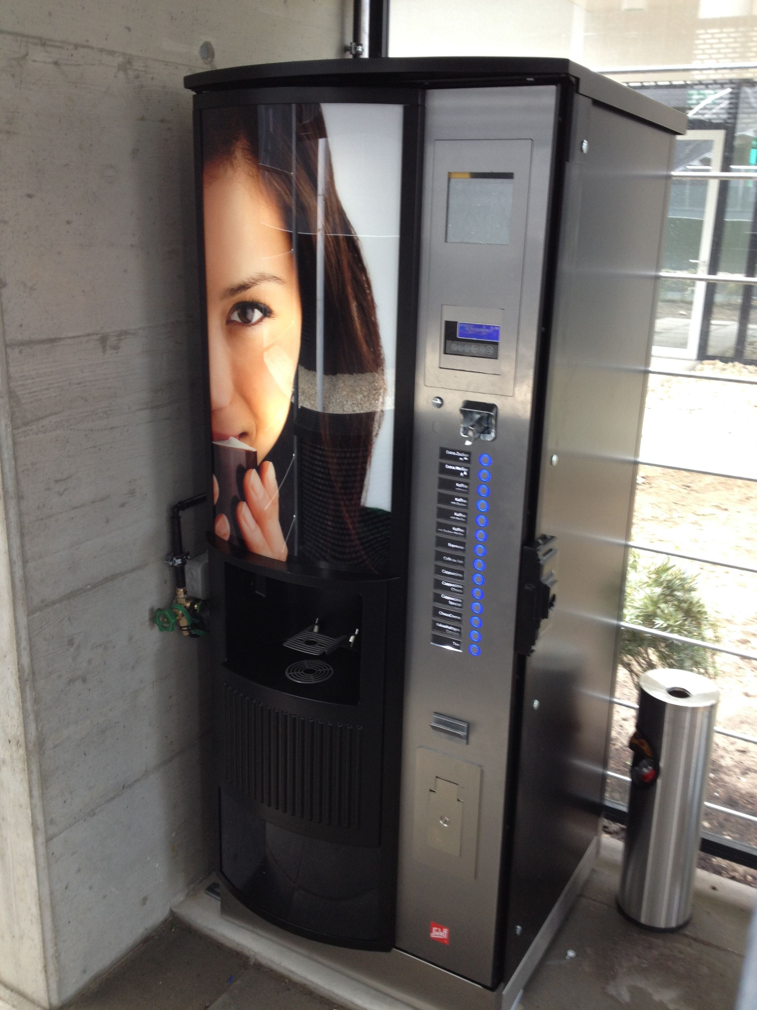 Outdoor Sielaff CIS 500; Instant Coffee Machine #drinksandsnacks