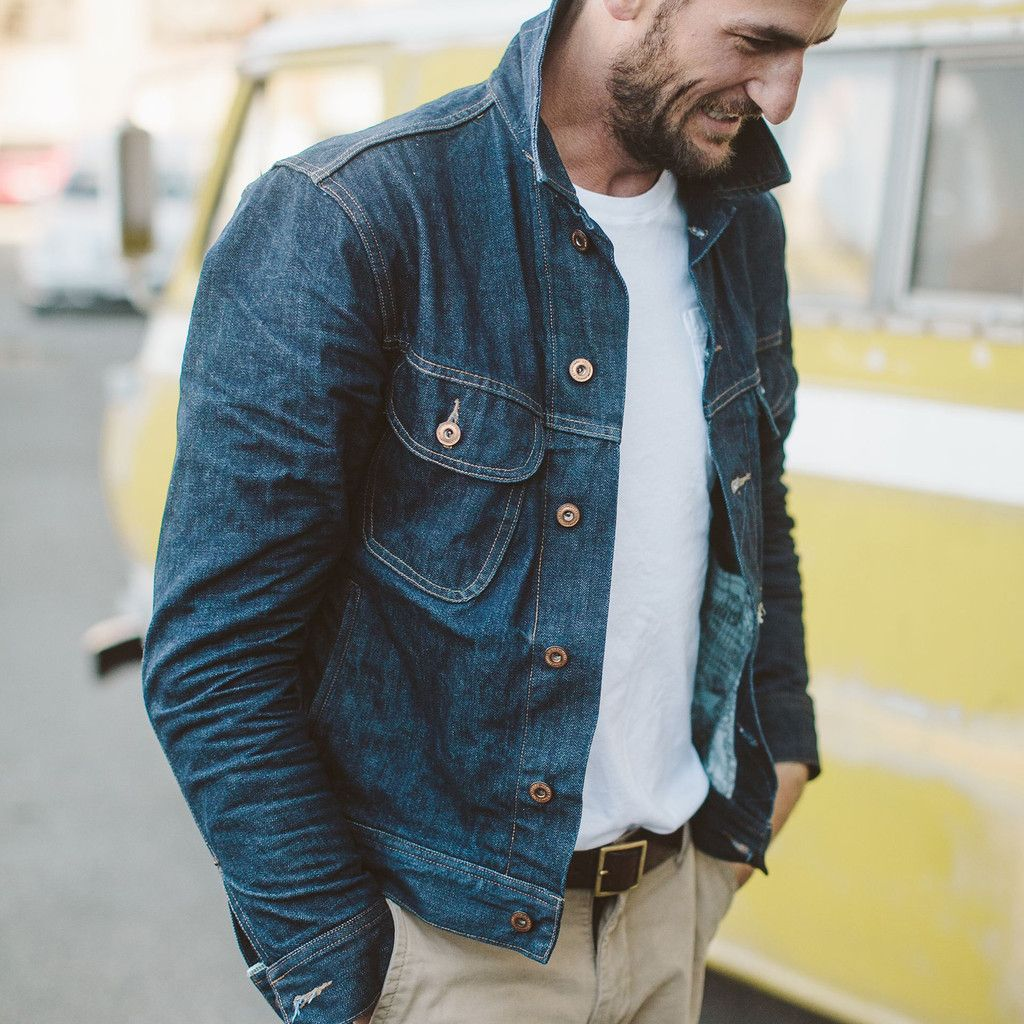 The Long Haul Jacket in Cone Mills '68 Selvage | Taylor stitch ...