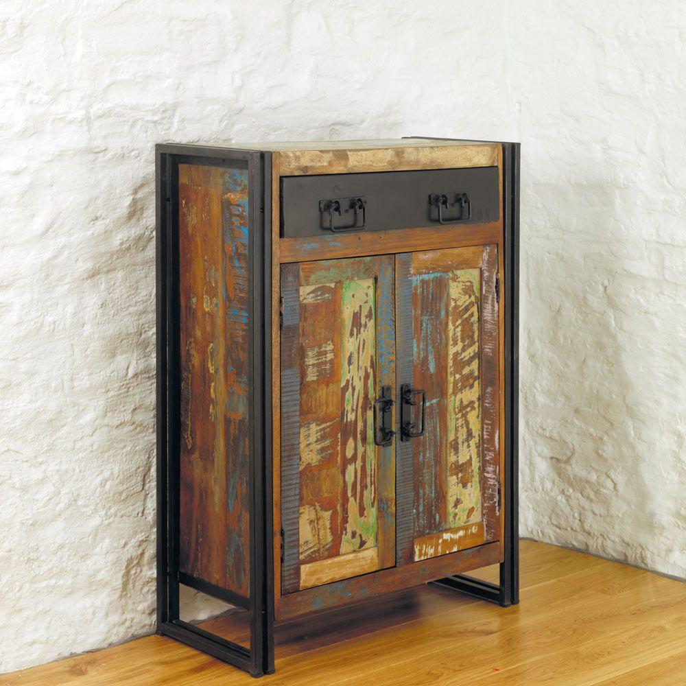 chic industrial furniture. Urban Chic Industrial Shoe Storage Cupboard ~ $289.00 At Thefurnituremarket.co.uk Furniture