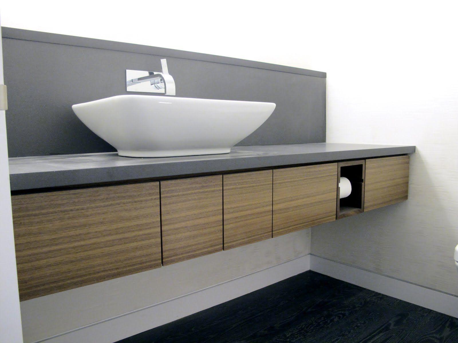 Floating vanity cabinet Google Search bathroom decor Pinterest