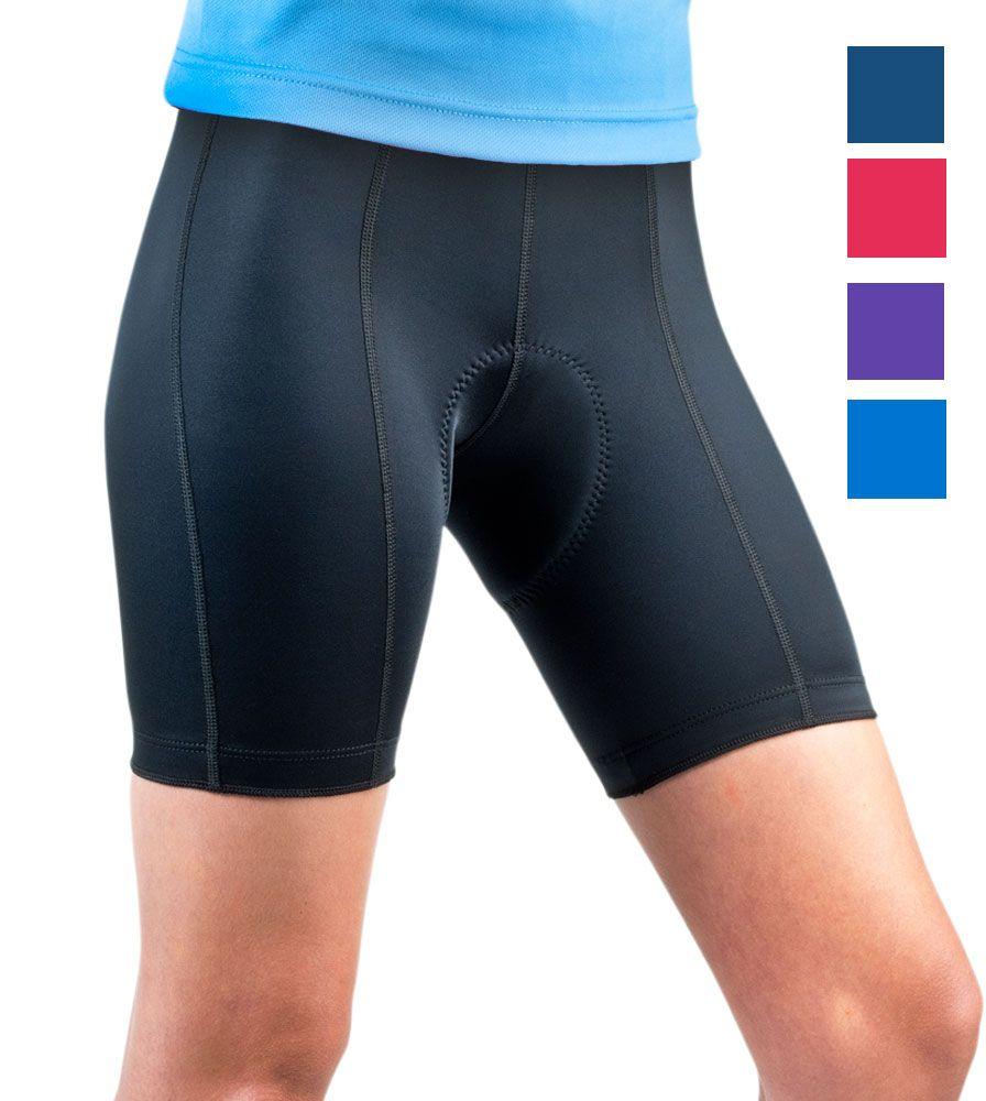 Aero Tech Women S Pro Cycling Short Padded Anti Chafe Chamois Padded Bike Shorts Bike Shorts Padded Cycling Shorts