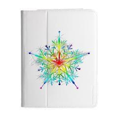 Fractal Flake iPad 2/3/4 Folio