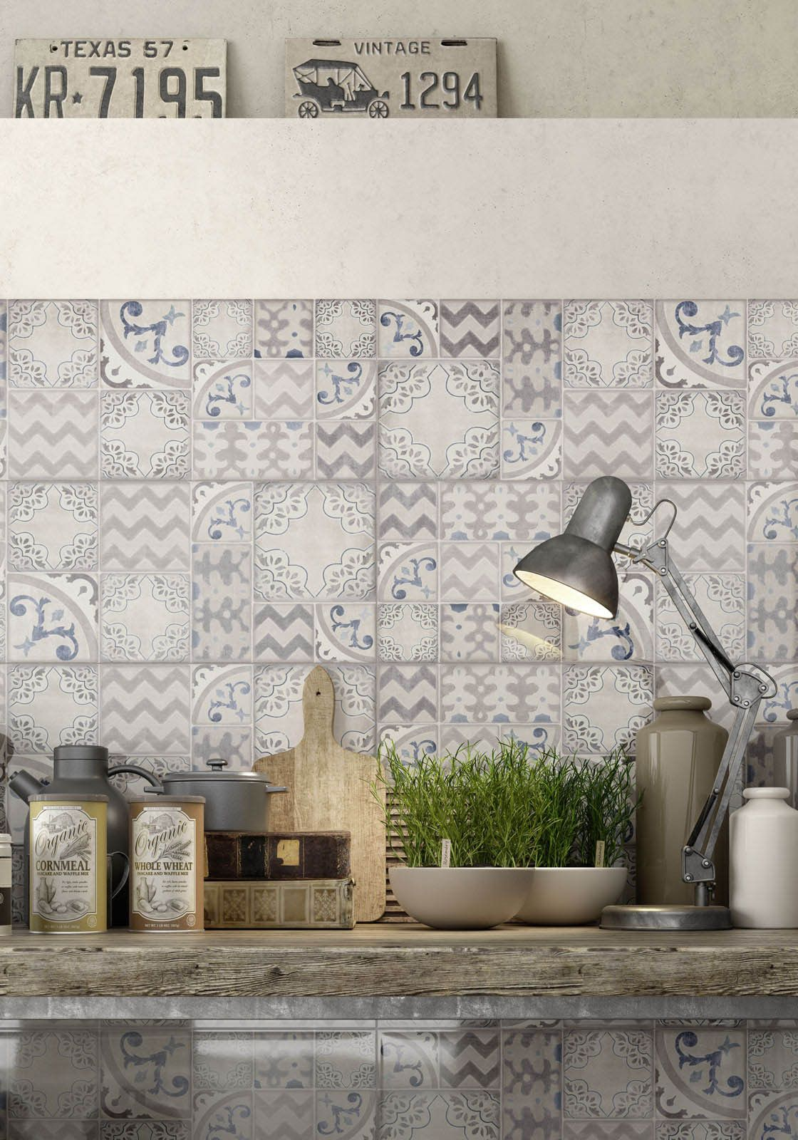 Marazzi #Pottery Decoro Azulejo 25x76 cm MMVF | #Gres #decorati ...