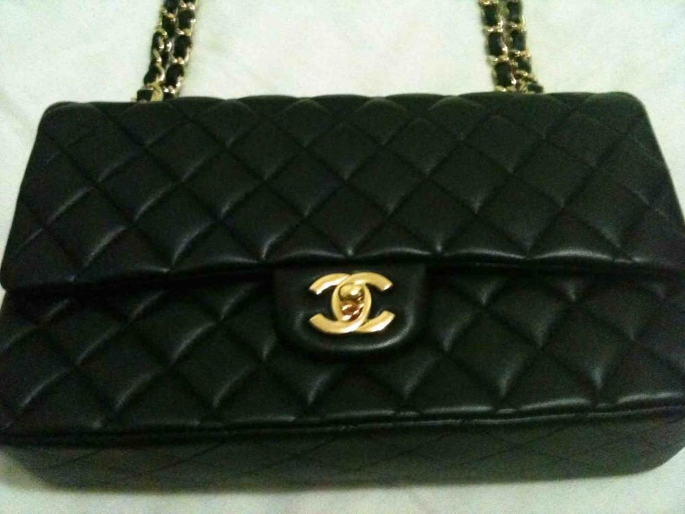 Authentic Chanel Handbags For Classic Flap Bag 2 55 Medium Used Only