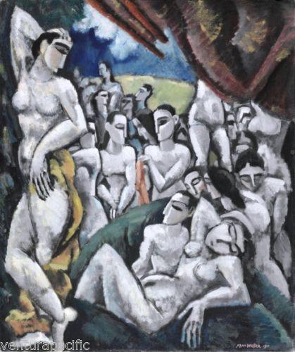 Group-of-Figures-Max-Weber-circa-1911