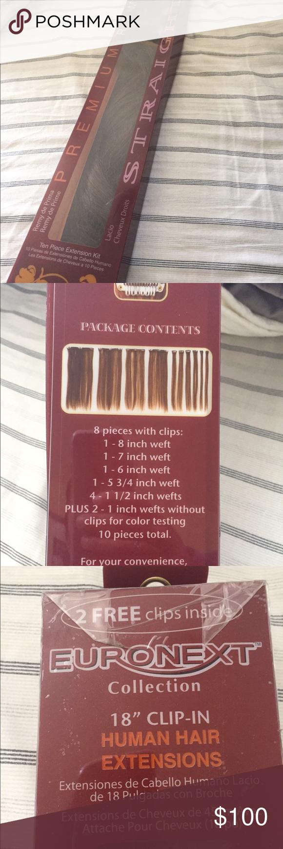 Premium remy human hair extensions 18 dark brown dark brown color premium remy human hair extensions 18 dark brown pmusecretfo Choice Image