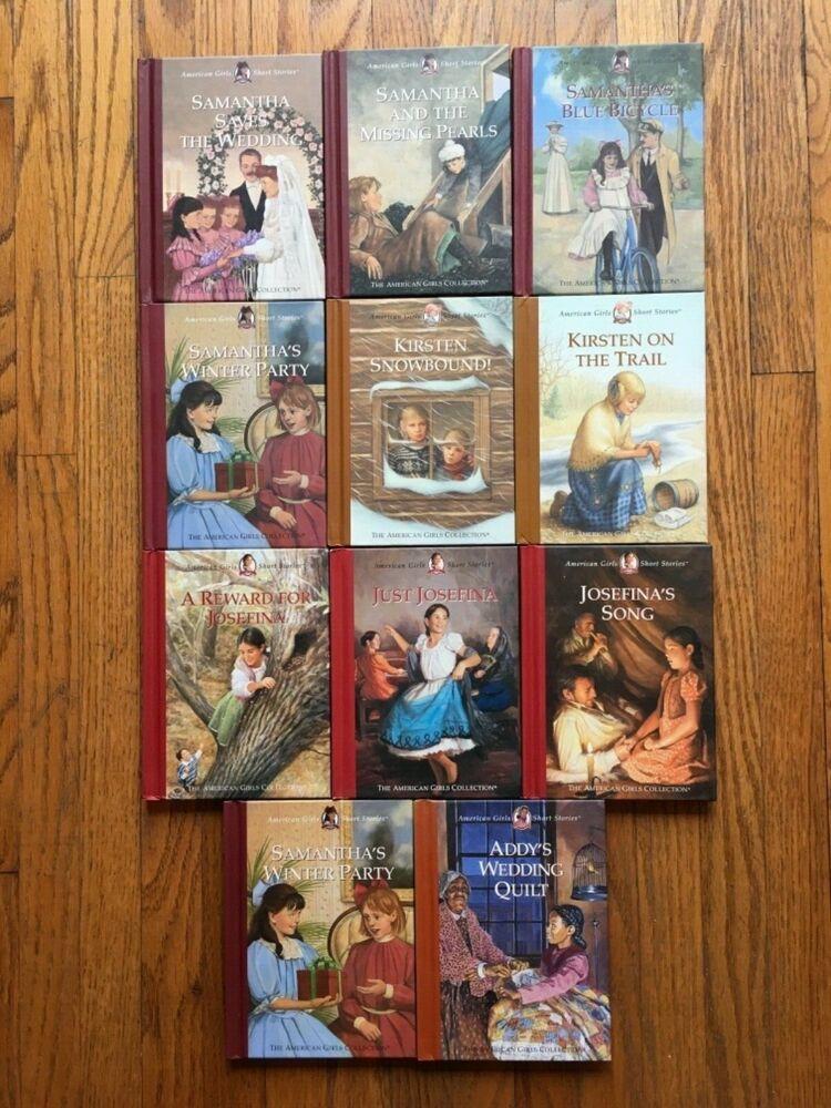 11 american girl short stories hardcover books samantha