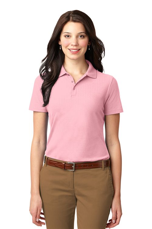 Port Authority L510 Ladies Stain Resistant Polo from NYFifth