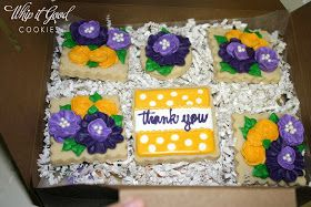 """Whip it Good Cookies: """"Thank You"""" Flowers"""