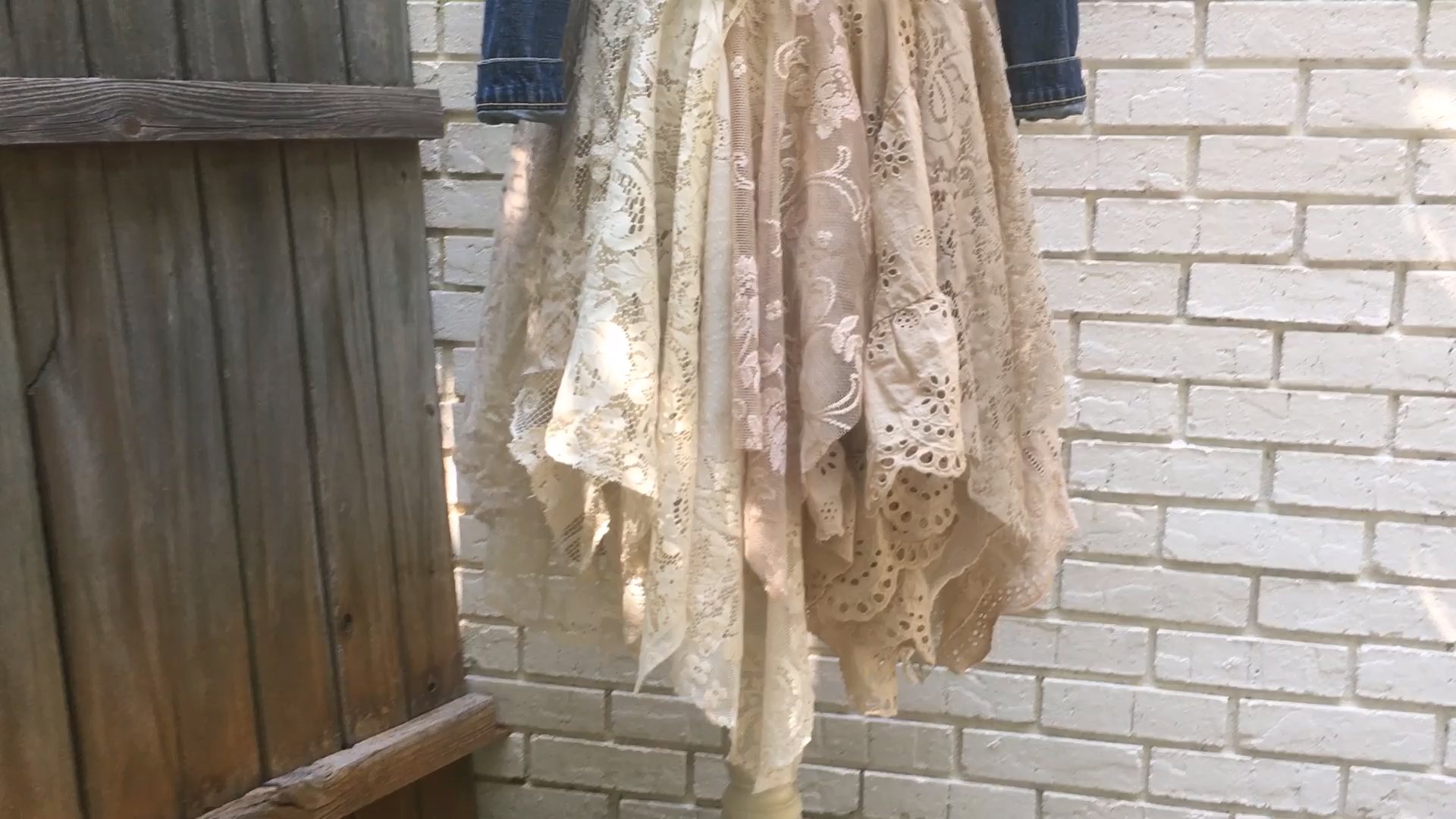Layered Lace Skirt DIY -   16 DIY Clothes Lace girls ideas
