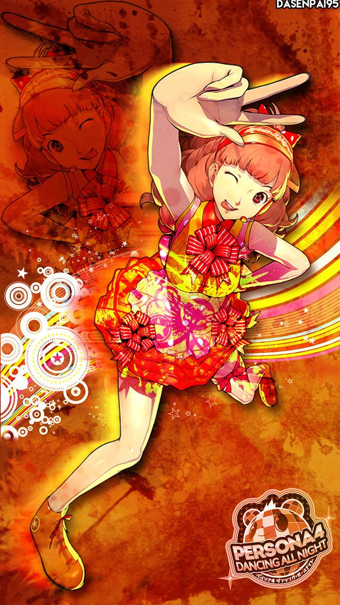 Kanami P4 Dancing All Night Wallpaper By Dasenpai Anime Dance