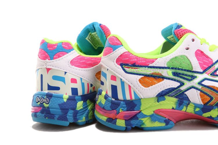 best service 16eda d0d06 ... wholesale womens asics gel noosa tri 7 shoes blue white green 30308  80f01