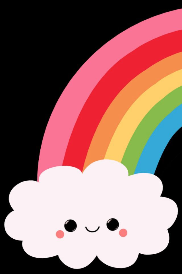 Cute rainbow Wallpapers Rainbow drawing Cute