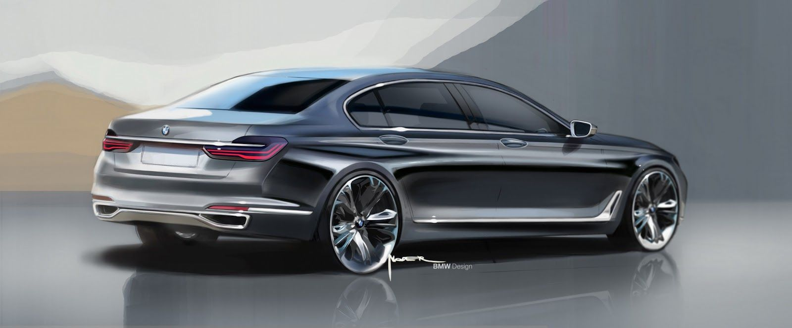 Elegant The All New 2016 BMW 7 Series In 169 Photos And Full Details