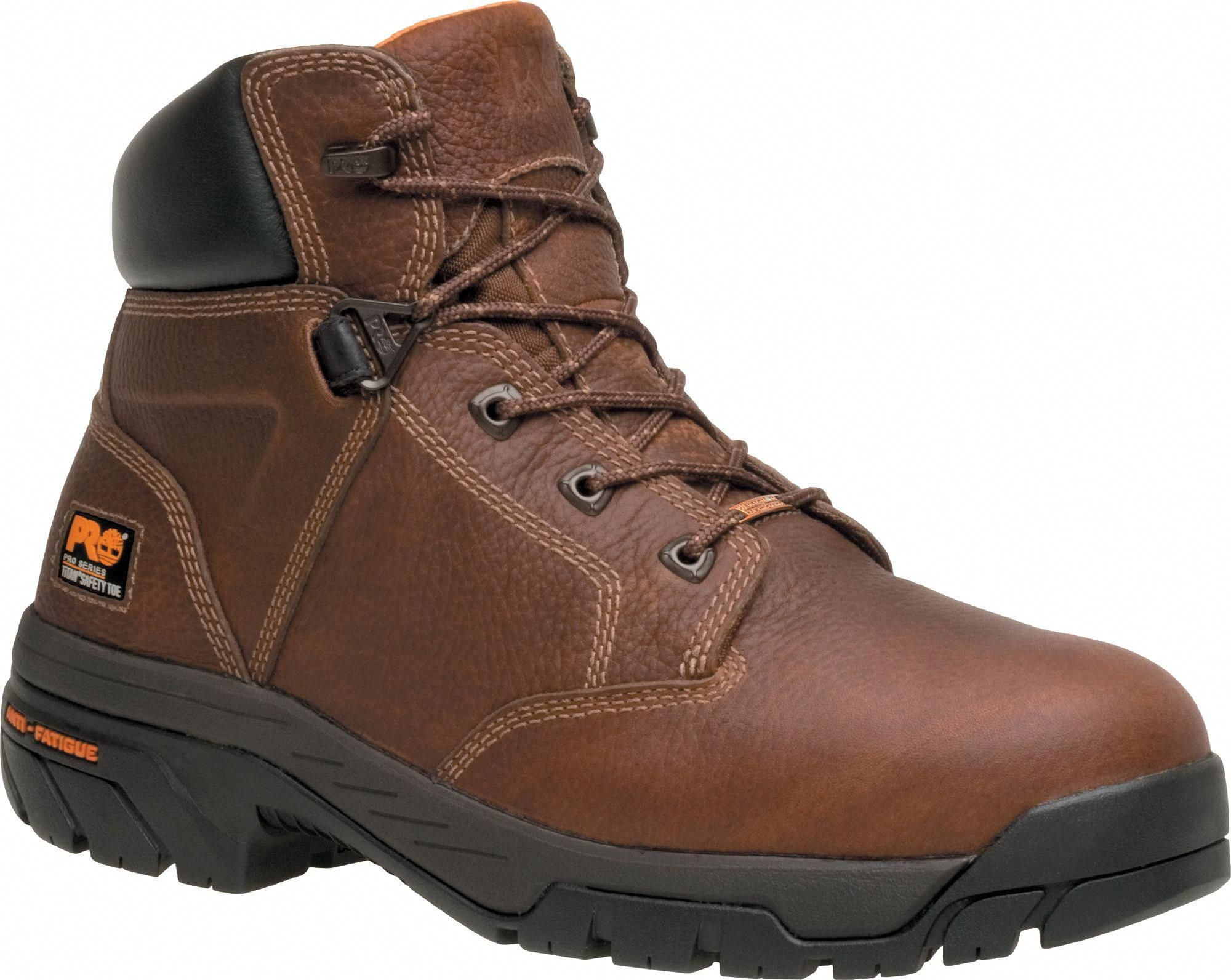 Timberland PRO Men's Helix 6'' Alloy Toe Work Boots, Brown