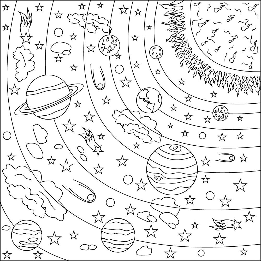 Best Photo Of Solar System Coloring Custom Name Tracing Worksheets ... | 1000x1000