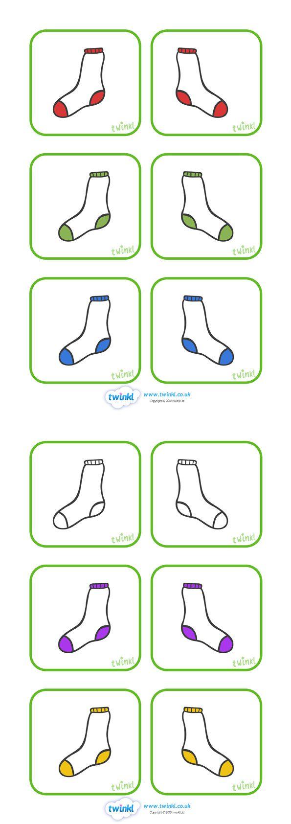 Matching socks