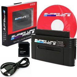 Super UFO Pro 8 Game Saves & Backup Cartridge Adapter SNES Cart Adapter