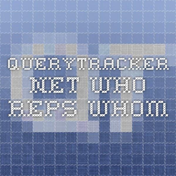 querytracker.net Who Reps Whom