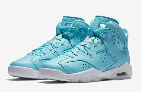 Official Images Of The Air Jordan 6 GS Still Blue  802816f40d0a