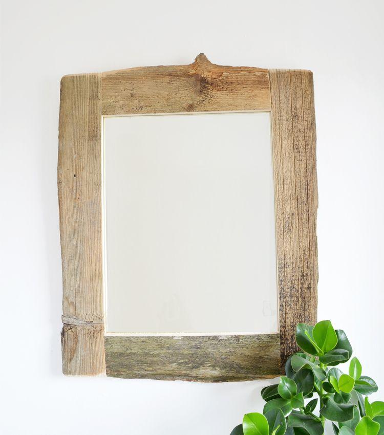 die besten 25 spiegel holzrahmen ideen auf pinterest spiegel holz spiegel mit holzrahmen und. Black Bedroom Furniture Sets. Home Design Ideas