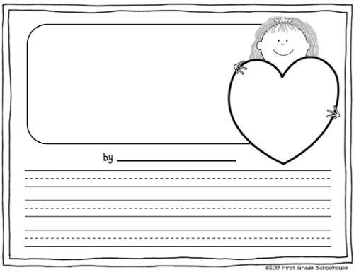Valentineu0027s Day Writing Classroom freebies, School and Teacher - free handwriting paper template