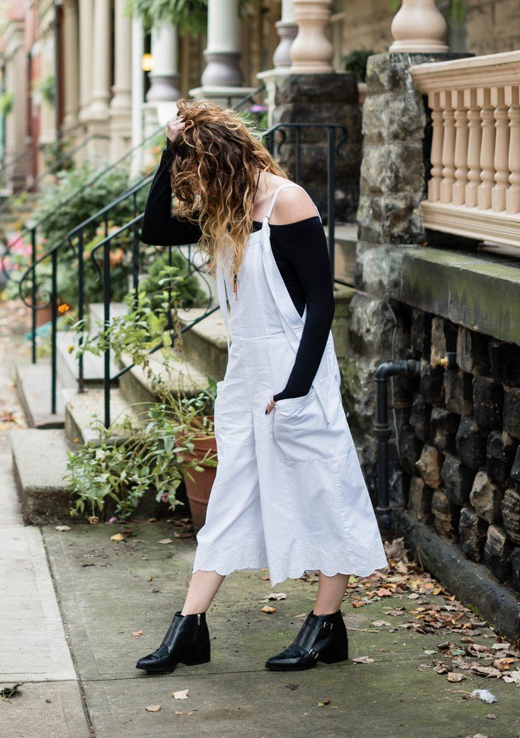 Wavy Alabaster // unpractical  #fpme #overalls #blogger