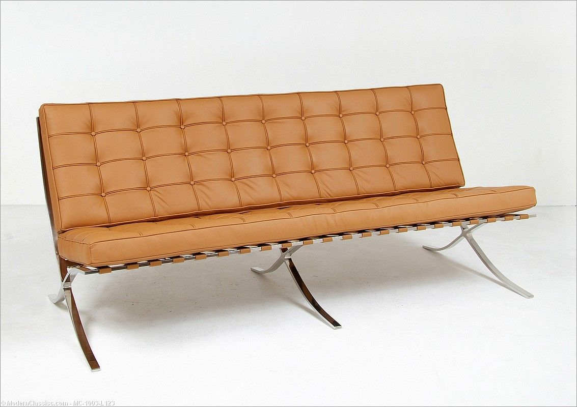 Mies Barcelona Chair Reproduction Modernclics