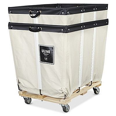 Canvas Basket Truck 12 Bushel H 1581 Bushel Basket Canvas