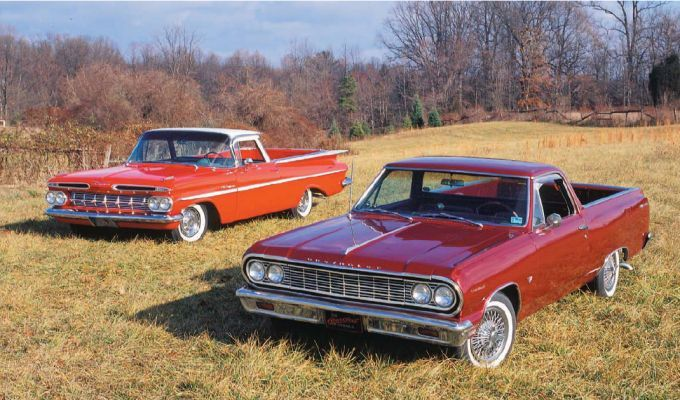Check Out Chevrolet S 1959 Elcamino The Original Car Truck Hybrid Source