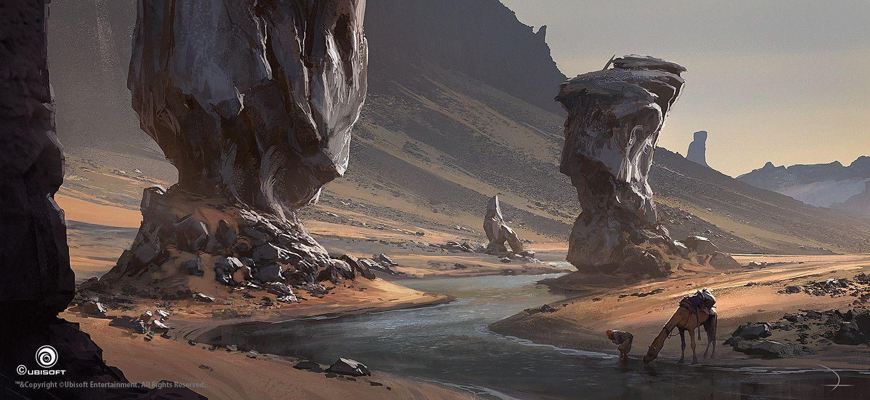 Assassin's Creed Origins, Martin Deschambault