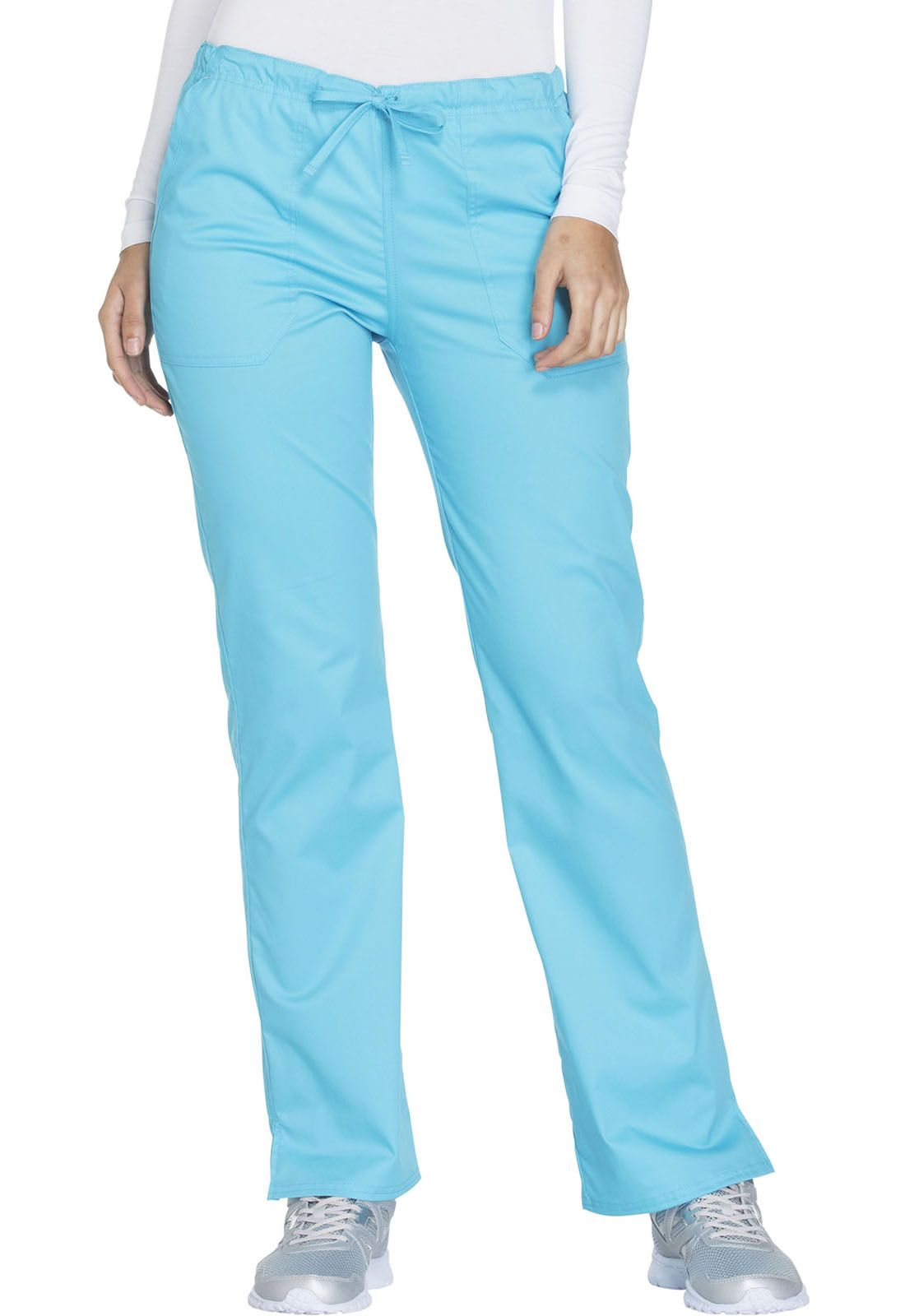 Pantalon Uniforme Medico Mujer Unicolor Cherokee Ww130 Trqw Health Company Ropa De Trabajo Femenina Pantalon Con Lazo Uniformes Medicos