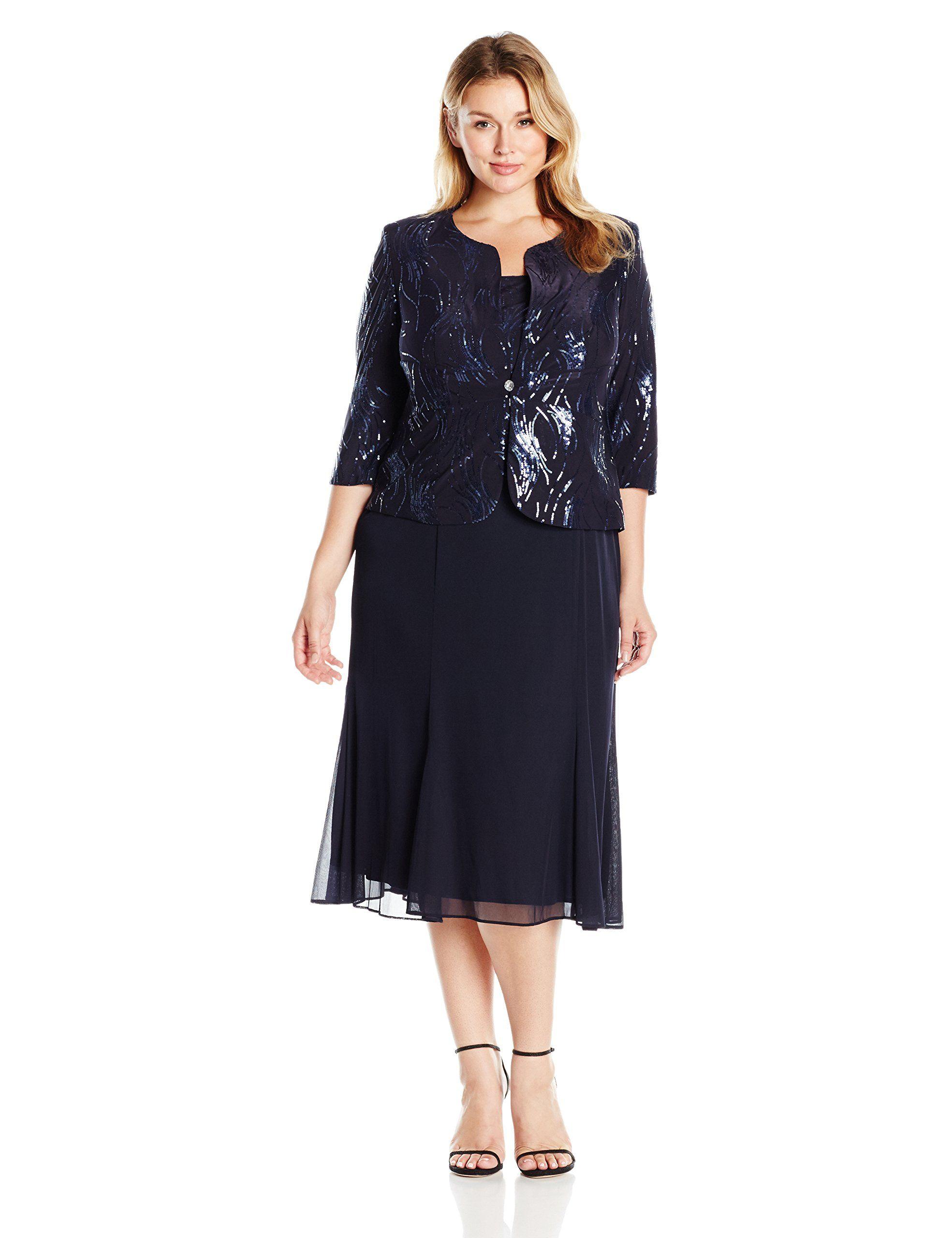 alex plus size evening wear - Siteze