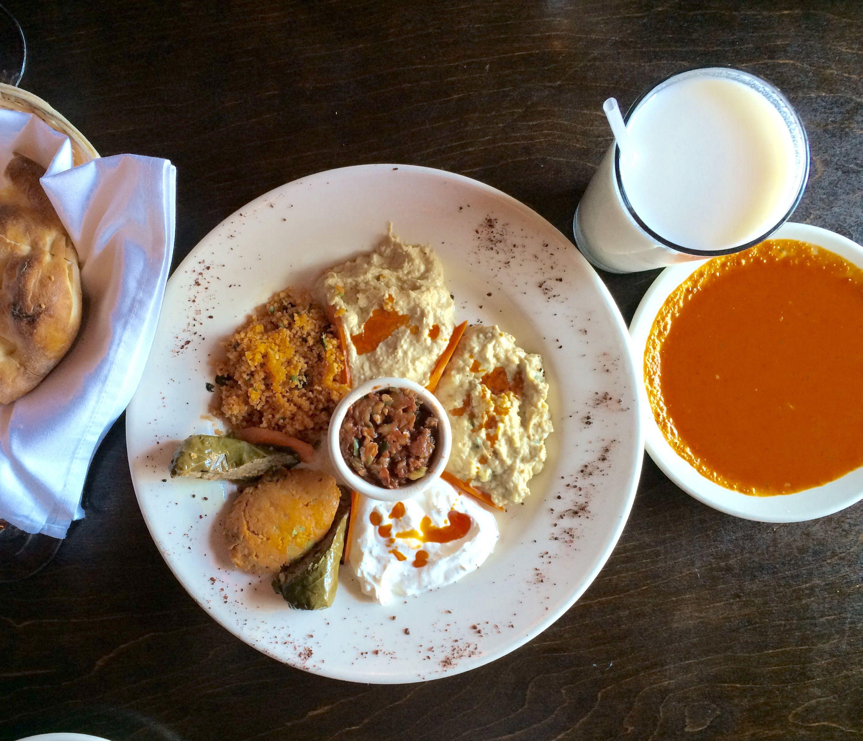 Meze Platter Talullah S Authentic Turkish Restaurant Chapel Hill
