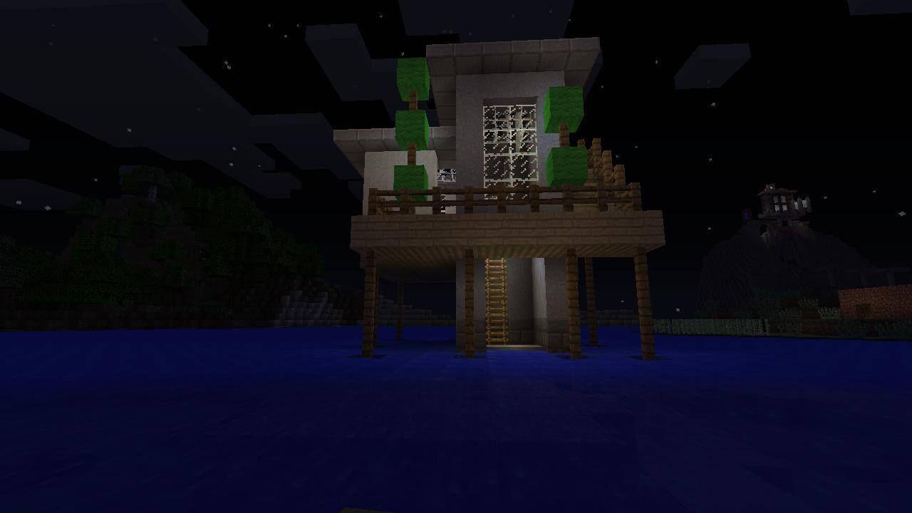 MineCraft Modern House Design : Stilthouse | Minecraft house ideas
