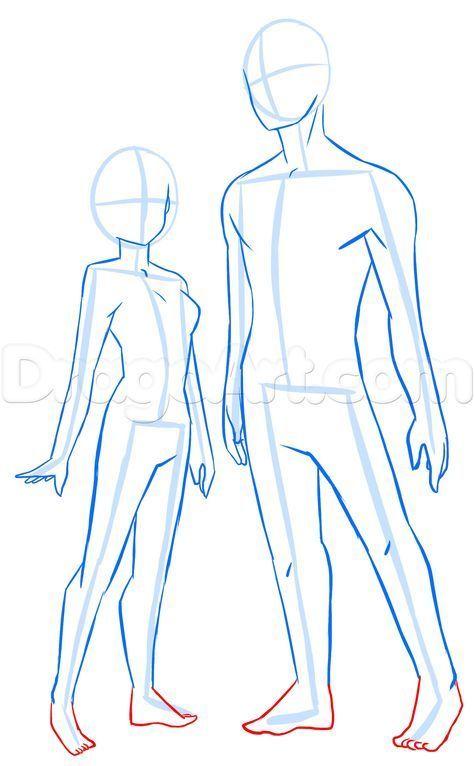 How To Draw Anime Anatomy Step 16 Como Dibujar Cuerpos Cosas De Dibujo Como Dibujar Cuerpo Anime