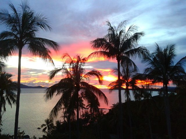 Sunset Photo By On Uma Spa Operations Mamager Kamalaya Koh Samui - Kamalaya-koh-samui-luxury-spa-resort-in-thailand