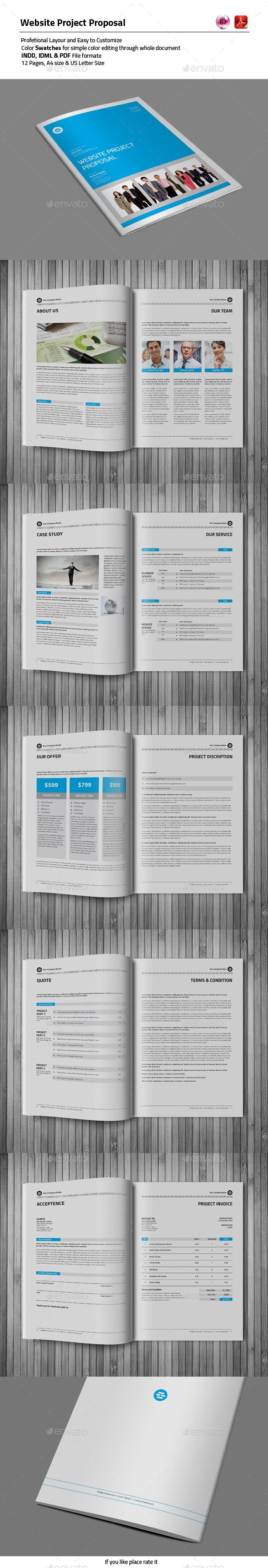 12 Pages Proposal Template 12 Pages Proposal