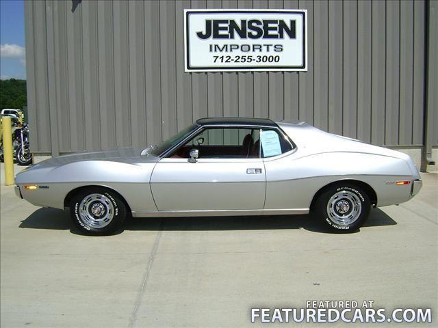1971 Amc Javelin Le Mars Ia Used Cars For Sale Featuredcars Amc Javelin New Trucks New Nissan Titan