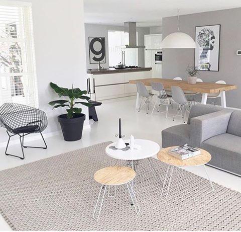 Woonkamer | Indeling - New home | Pinterest - Woonkamer indeling ...
