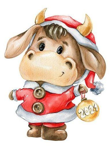 Идеи на тему «Бык» (100+) | смешные коровы, корова, рождественские  иллюстрации