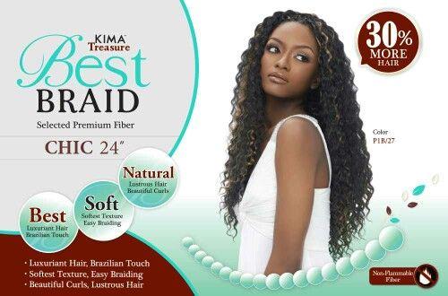 e5b4f54b1 Kima Treasure - Best Braid - Chic | Bulk Hair for Crochet Braids in ...