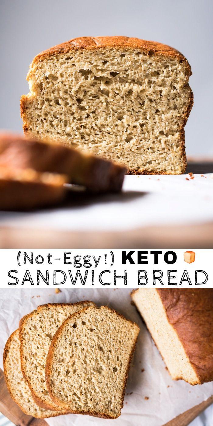 (Not Eggy!) Gluten Free & Keto Bread With Yeast #keto #glutenfree #grainfree #bread #lowcarb
