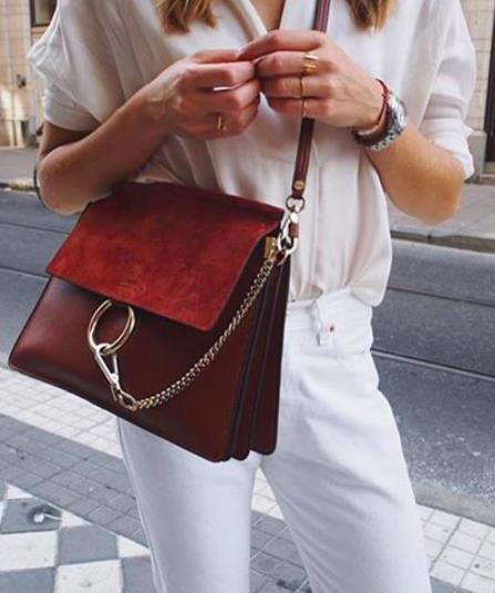 c75e2eaee1c1b nudes + chloe 'faye' bag | my style | Fashion, Bags, Bag accessories
