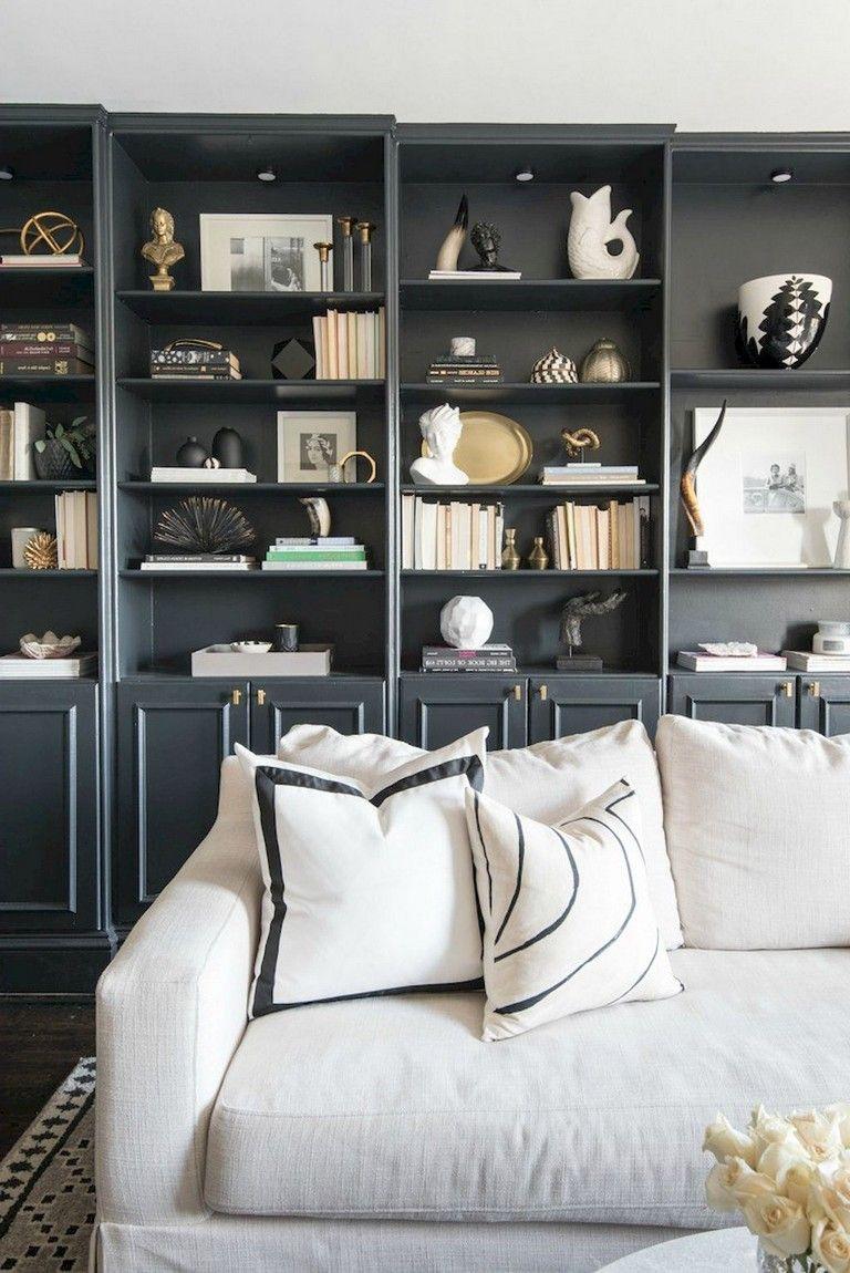 62 Stunning Black White Living Room Decor Tr