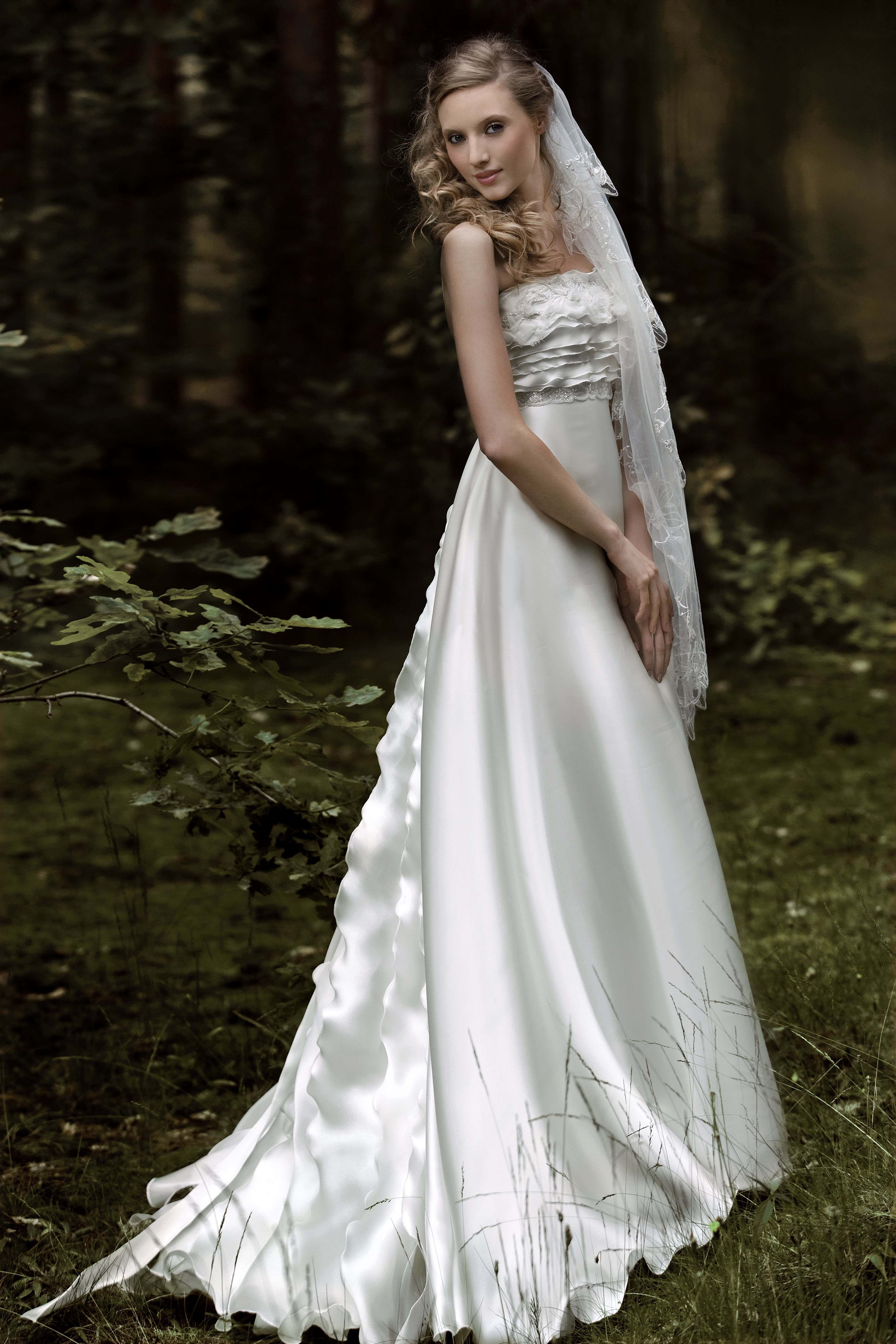 Sheath wedding gown from Papilio \