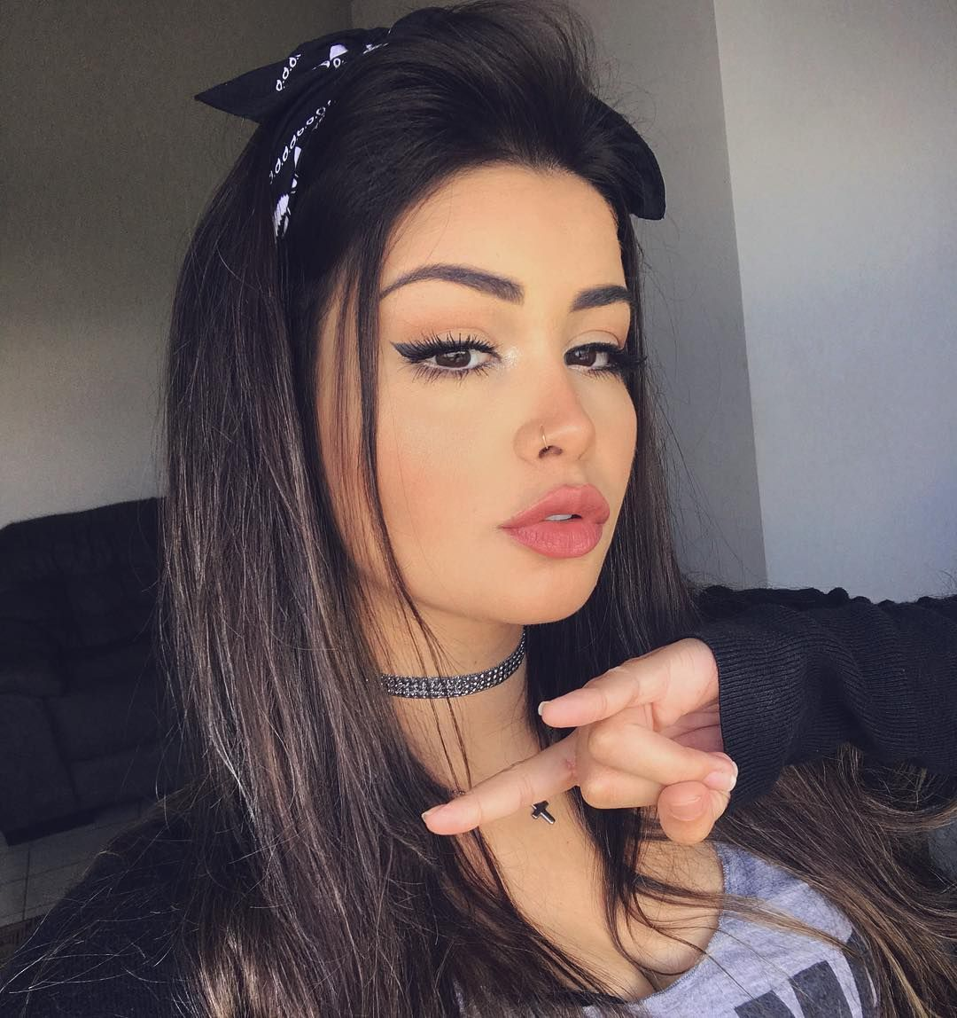 17 3 Mil Curtidas 106 Comentários Amanda Hummer Hummer Aj No Instagram Ahhh Mas Aqui é Peinados Con Bandana Cabello Y Maquillaje Pañuelos Para Cabello