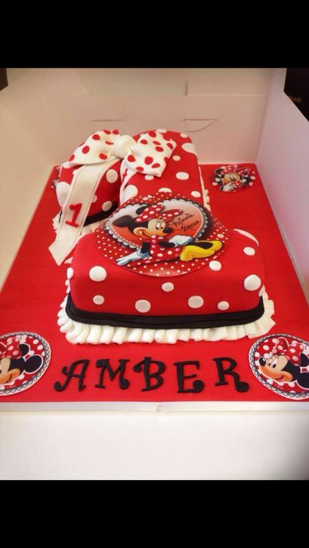 Victoria S Creative Cakes Minnie Mouse