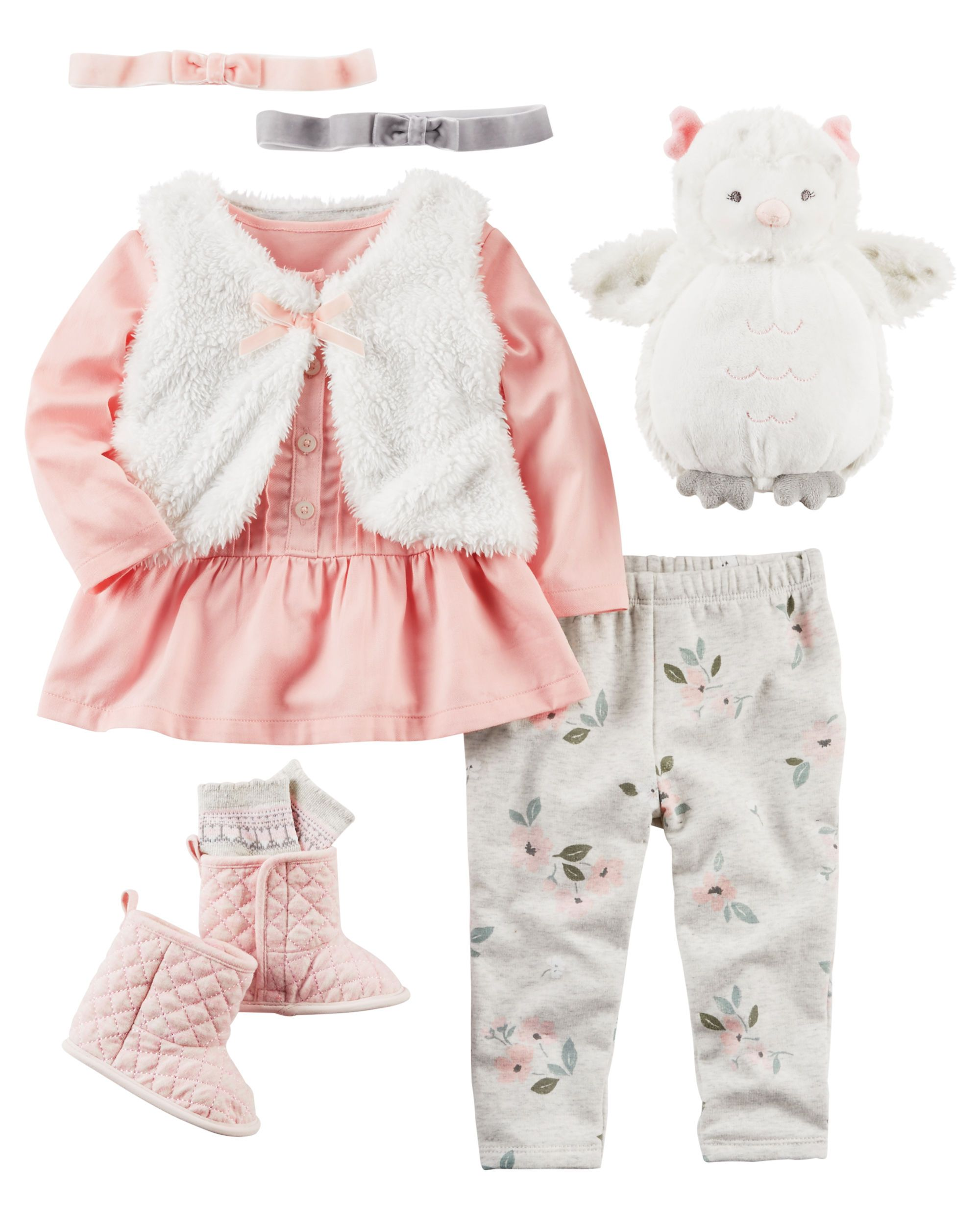 Baby Girl CAROCT2F16 Carters Baby Pinterest