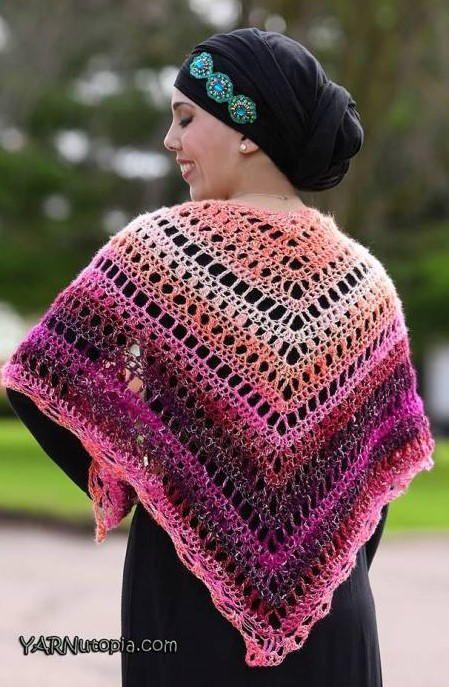 Beautiful Crochet Summer Shawl Crochet Pinterest Crochet